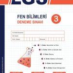 Sayısal Zümre Fen Bilimleri LGS 3.Deneme Sınavı