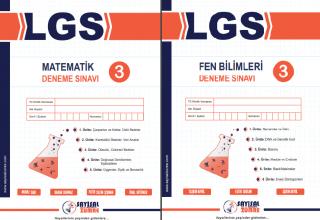 Sayısal Zümre LGS Deneme 3 yayında